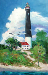 Pensacola Lighthouse by Anne Klingenburg
