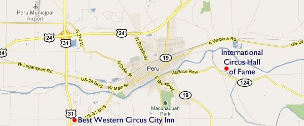 Peru, Indiana and the International Circus Hall of Fame