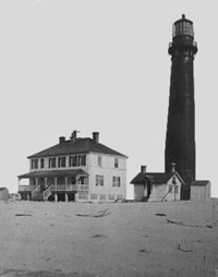 Sand Island Lighthouse, circa 1884